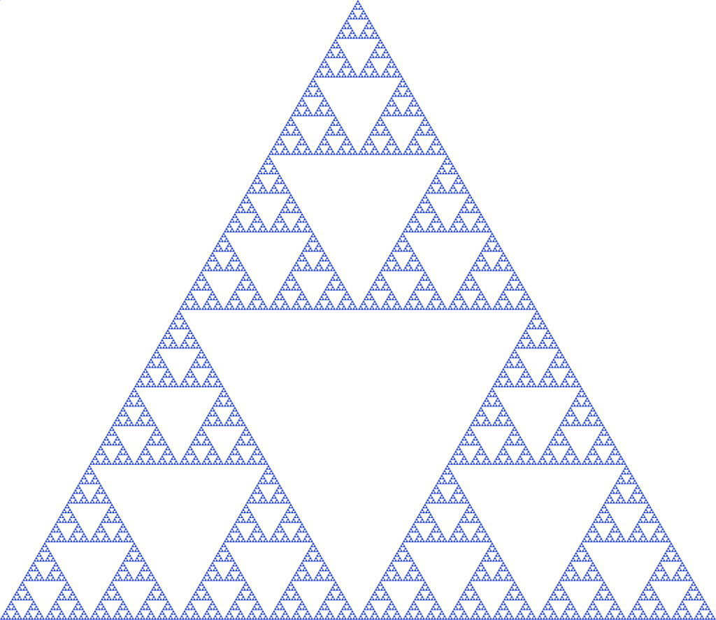 Sierpinski Triangle (Wikipedia)